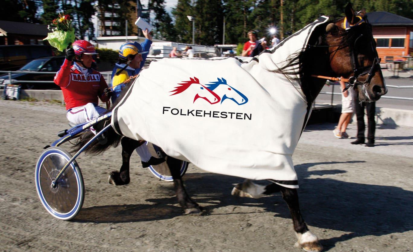 Logotyp till FOLKEHESTEN